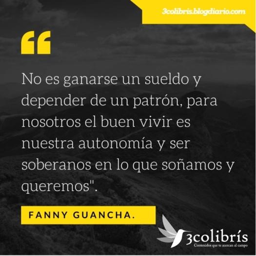Fanny Guancha 3colibris