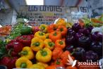 La rica diversidad agrícola de México se vive en sus plazas de mercado, Plaza Medellín en la Ciudad de México. Fuente: 3Colibrís.