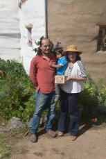 Fernanda Meneses y Javier Carrera una pareja de activistas que defienden la conservación e intercambio de las semillas nativas en Ecuador y Latinoamérica. Fuente: 3Colibrís.