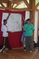 Jóvenes y campesinos comparten sus visiones de futuro en San Rafael, Antioquia. Fuente: 3Colibrís.
