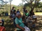 Jornada de Escuelas Campesinas Agroecológicas en el Cantón, municipio de Guaymango, departamento Ahuachapan. Fuente: 3colibrís.